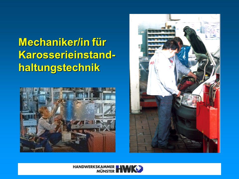 Metallbauer/inElektroniker/in II. Metall- und Elektroberufe
