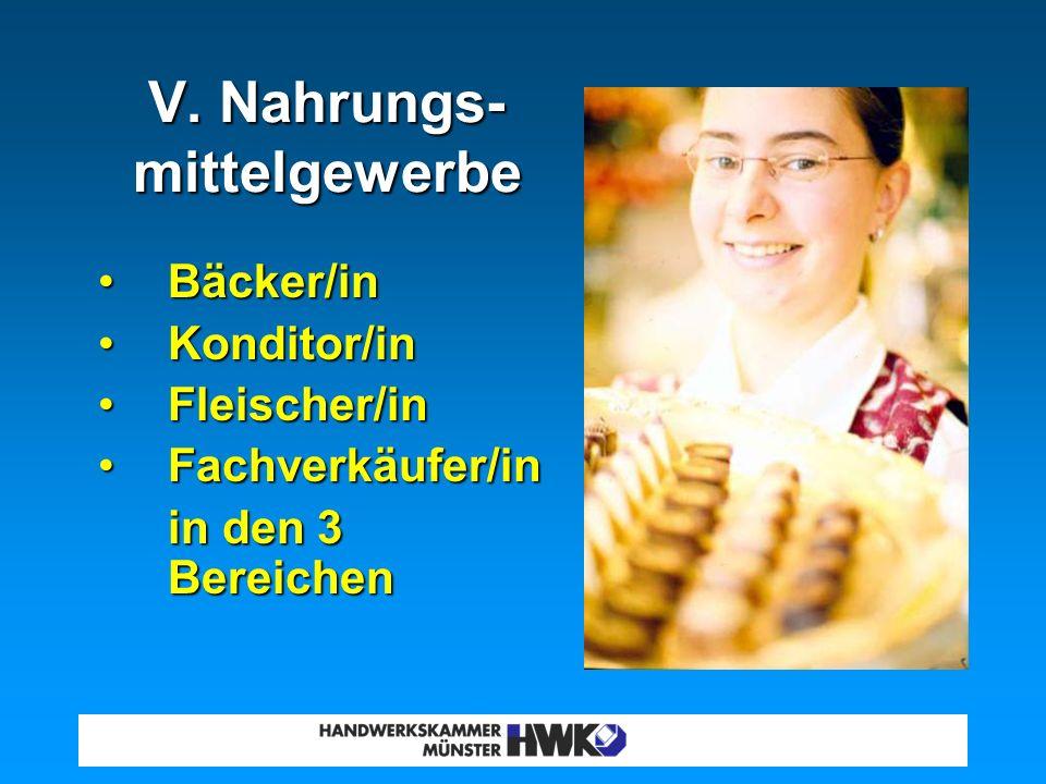 Maßschneider/inMaßschneider/in IV. Bekleidungs-, Textil- und Ledergewerbe