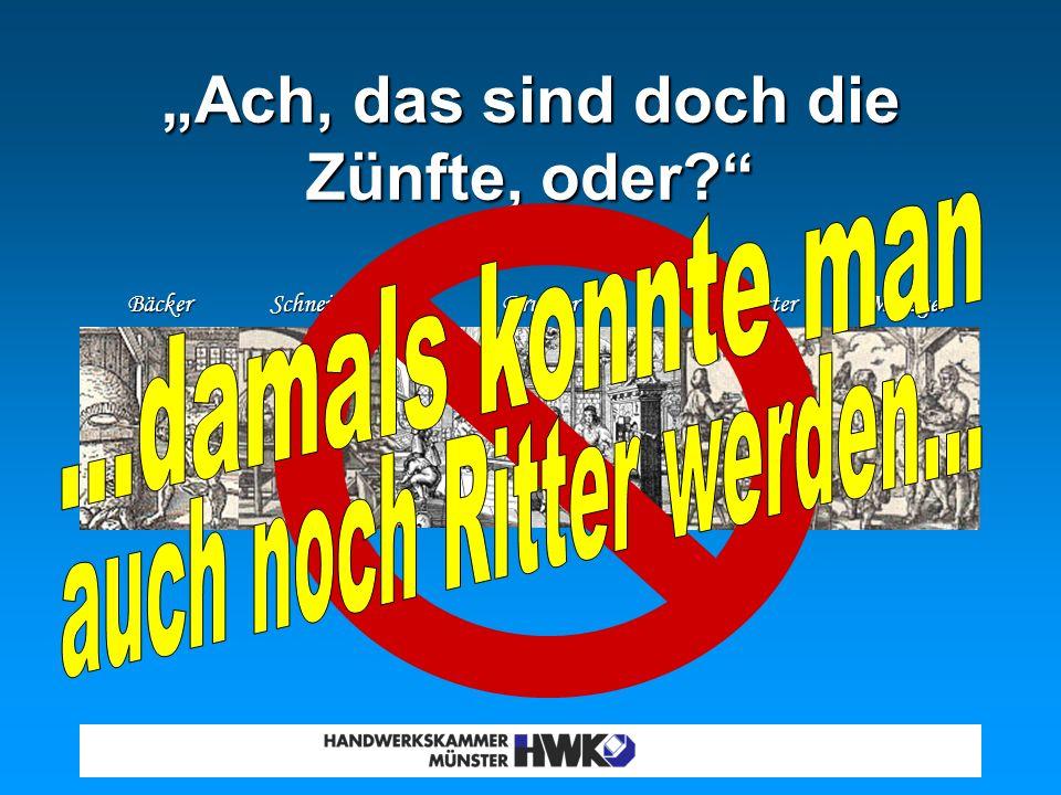 Das kenn` ich doch alles... Viele Menschen in Deutschland können zwar 5-10 Handwerksberufe benennen......aber fast niemand weiß, dass es heute fast 10