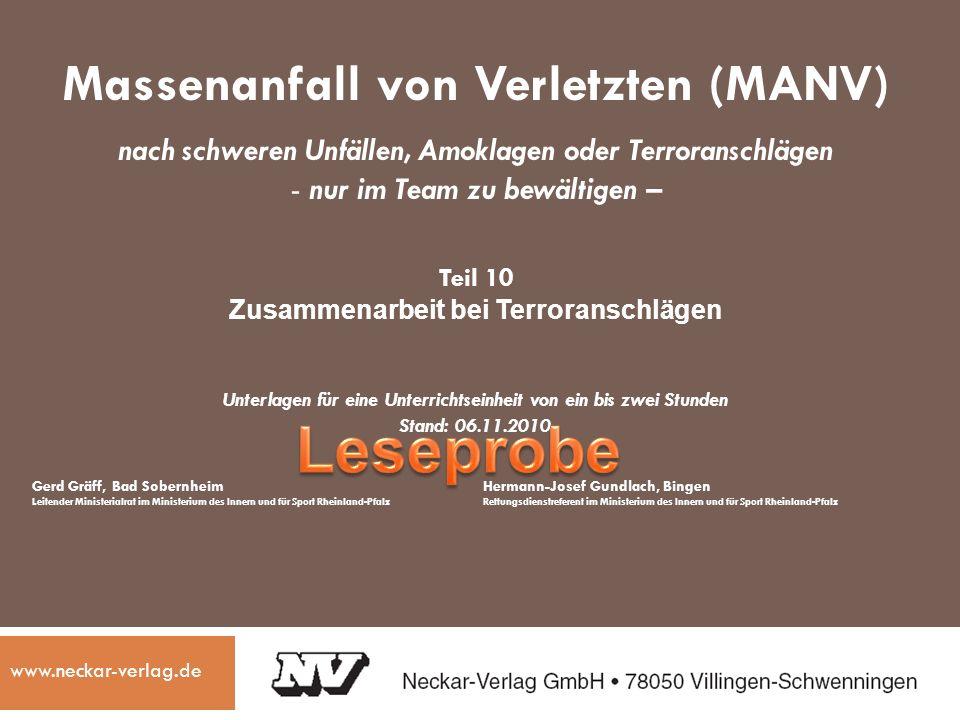 Hinweise des Verlags © Neckar-Verlag, Villingen-Schwenningen Diese Powerpoint-Präsentation ist für Ausbildungszwecke bestimmt und darf von den Beziehern des nebenstehenden Kommentars genutzt werden.