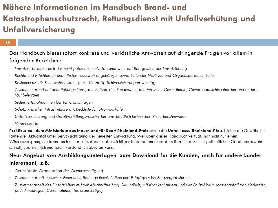 Bestellmöglichkeiten 17 www.neckar-verlag.de ISBN 978-3-7883-0975-6 Grundwerk: Loseblattsammlung mit ca.