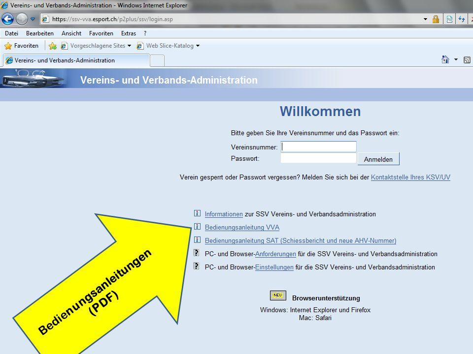 Bedienungsanleitungen (PDF)