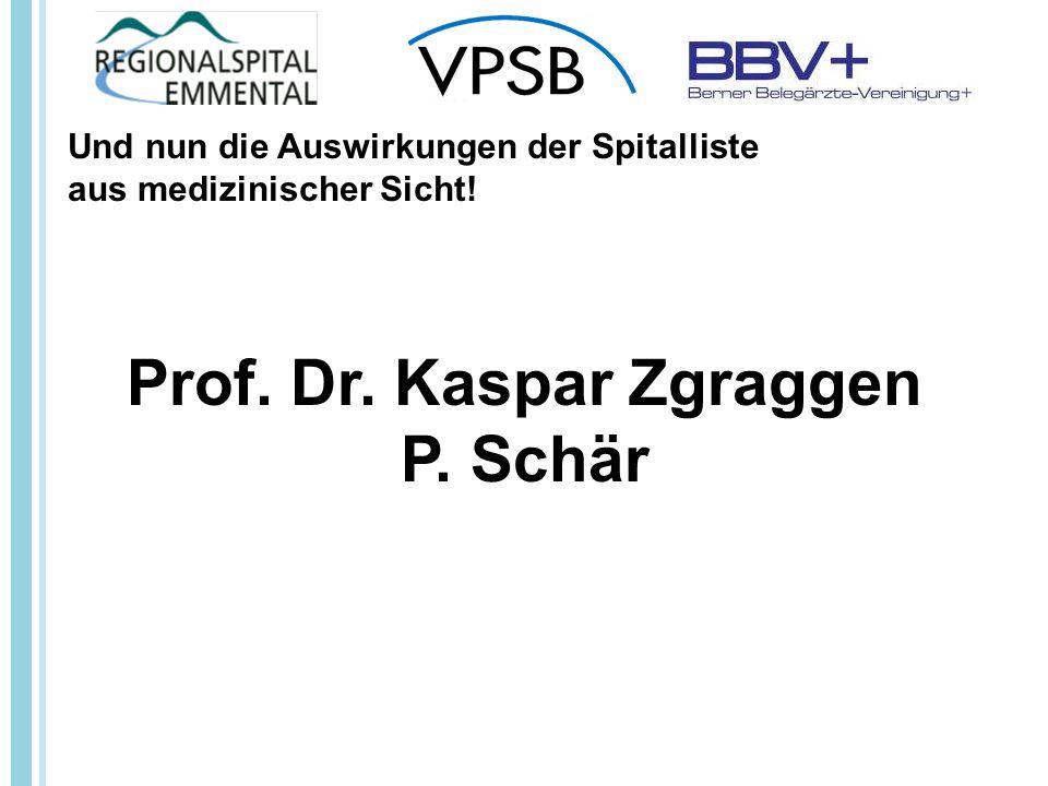 Prof. Dr. Kaspar Zgraggen P.