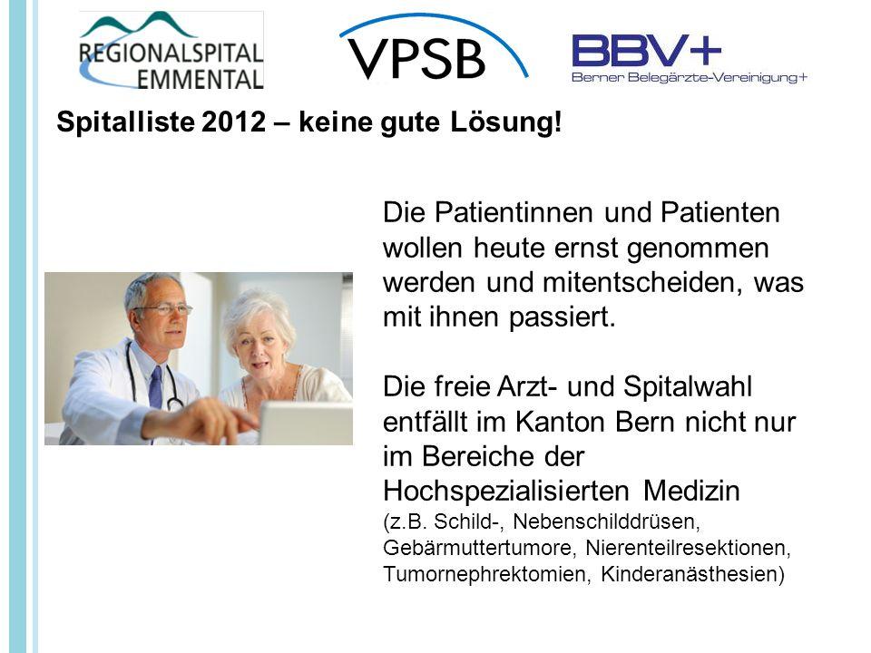 Die Patientinnen und Patienten wollen heute ernst genommen werden und mitentscheiden, was mit ihnen passiert.