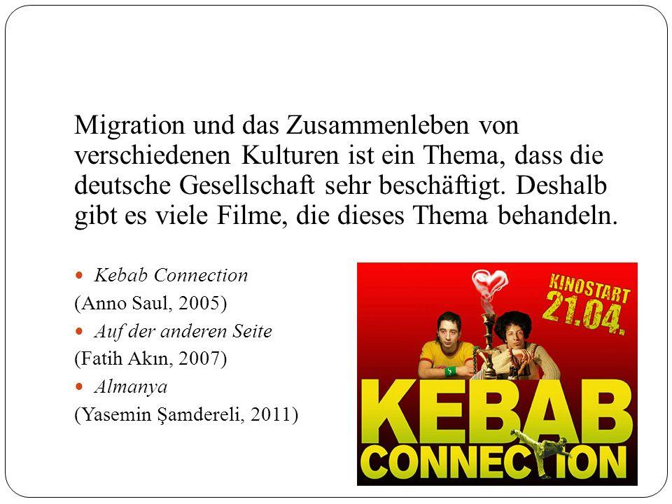 Migration und das Zusammenleben von verschiedenen Kulturen ist ein Thema, dass die deutsche Gesellschaft sehr beschäftigt. Deshalb gibt es viele Filme