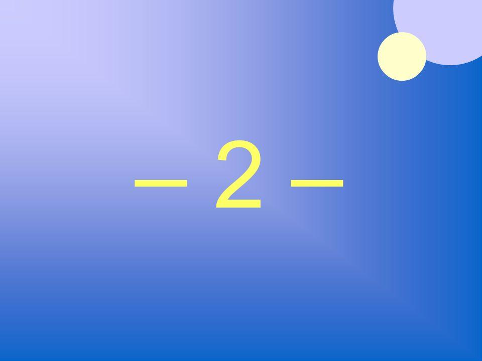 – 2 –