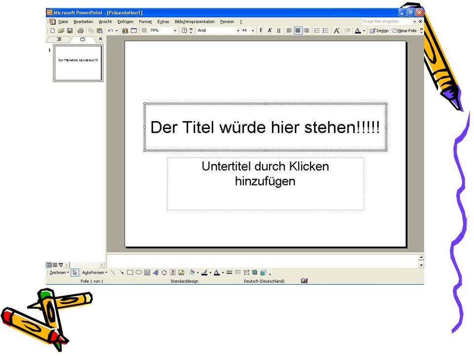 4.Vorteile eine PowerPoint Präsentation Der Vorteil einer PowerPoint Präsentation liegt darin, dass sie unterstützend zu einem Vortrag präsentiert werden kann.
