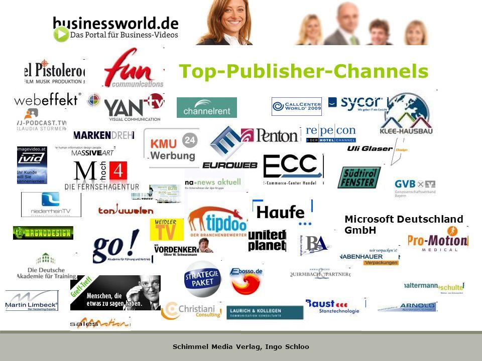 Schimmel Media Verlag, Ingo Schloo Top-Publisher-Channels Microsoft Deutschland GmbH