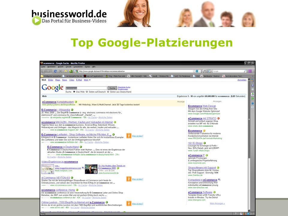 Schimmel Media Verlag, Ingo Schloo Top Google-Platzierungen