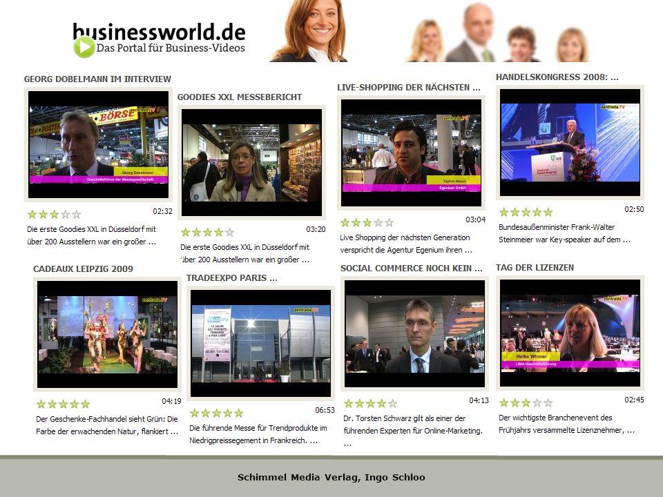 Schimmel Media Verlag, Ingo Schloo