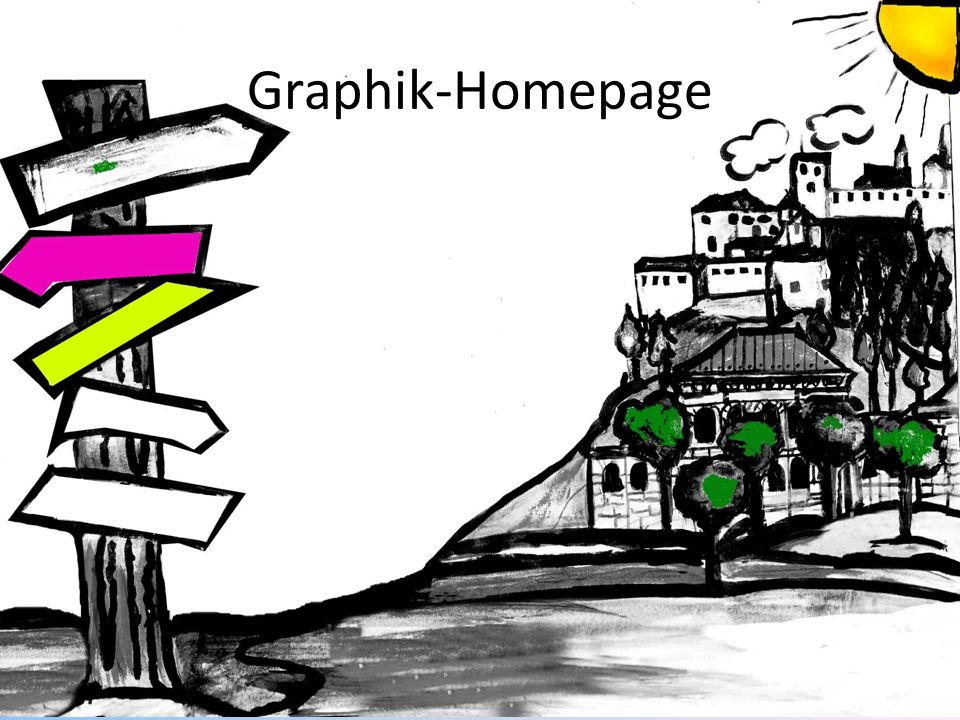 Graphik-Homepage
