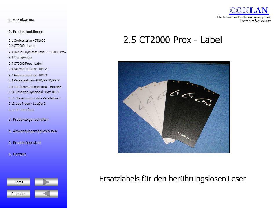 2.12 Log Modul - LogBox 2 2.12 Log Modul - LogBox 2 2.6 Auswerteeinheit - RPT 2 2.6 Auswerteeinheit - RPT 2 2.8 Relaisplatinen - RPO/RPTO/RPTX 2.8 Relaisplatinen - RPO/RPTO/RPTX 5.