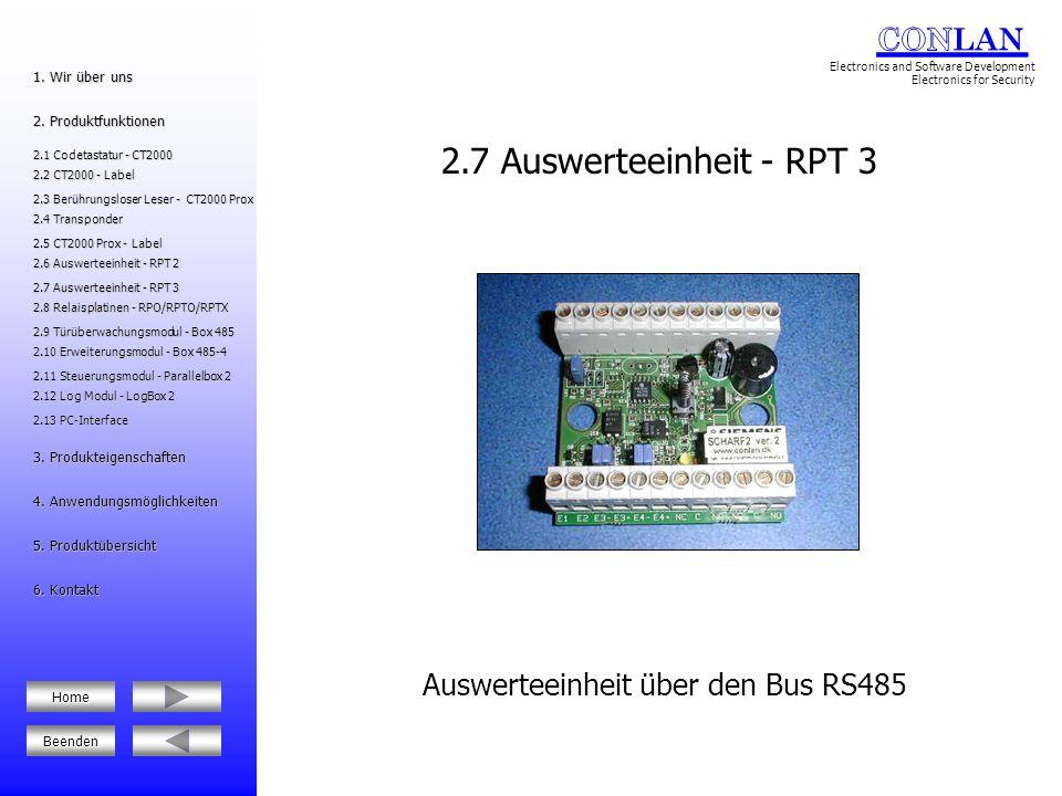 Relaisplatinen für den universellen Einsatz 2.8 Relaisplatinen - RPO/RPTO/RPTX 2.12 Log Modul - LogBox 2 2.12 Log Modul - LogBox 2 2.6 Auswerteeinheit - RPT 2 2.6 Auswerteeinheit - RPT 2 2.8 Relaisplatinen - RPO/RPTO/RPTX 2.8 Relaisplatinen - RPO/RPTO/RPTX 5.