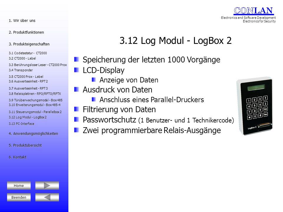 3.12 Log Modul - LogBox 2 3.12 Log Modul - LogBox 2 5.