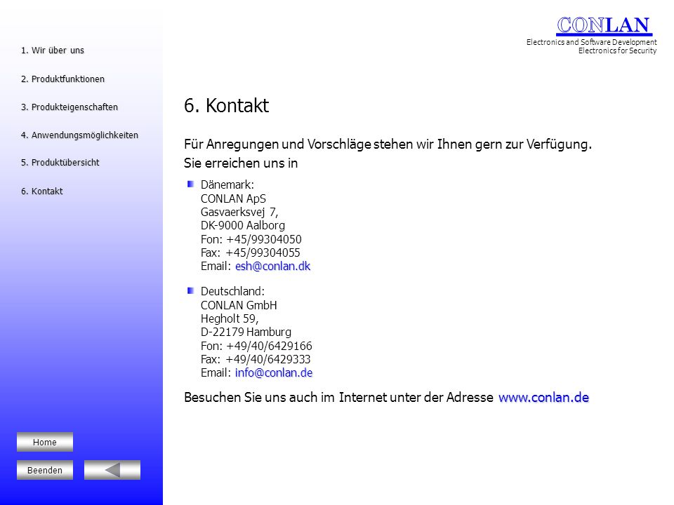 Keypads, Proximity Readers, Access Control und more… 1.