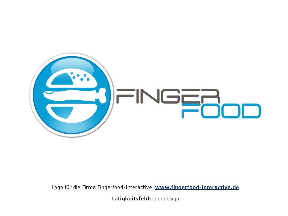Logo für die Firma Fingerfood-Interactive, www.fingerfood-interactive.dewww.fingerfood-interactive.de Tätigkeitsfeld: Logodesign