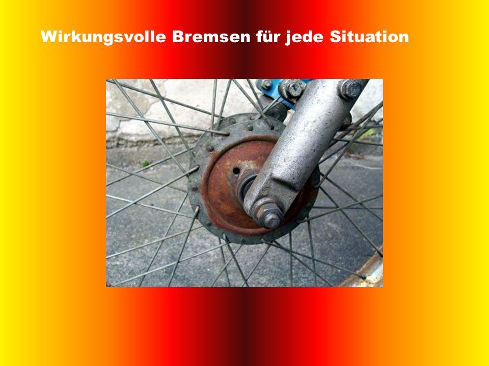 Wirkungsvolle Bremsen für jede Situation