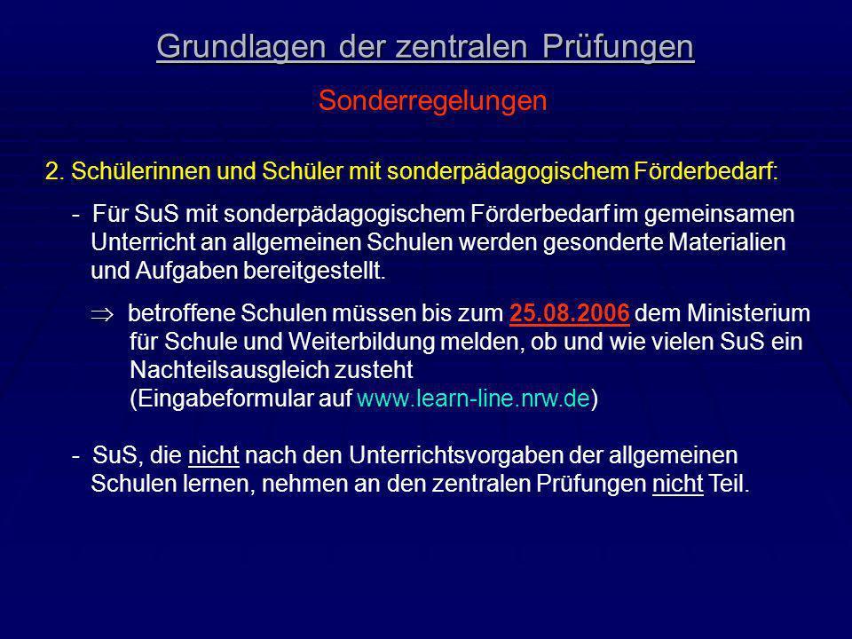 Korrektur und Bewertung der Prüfungsarbeiten gemäß § 31 Abs.