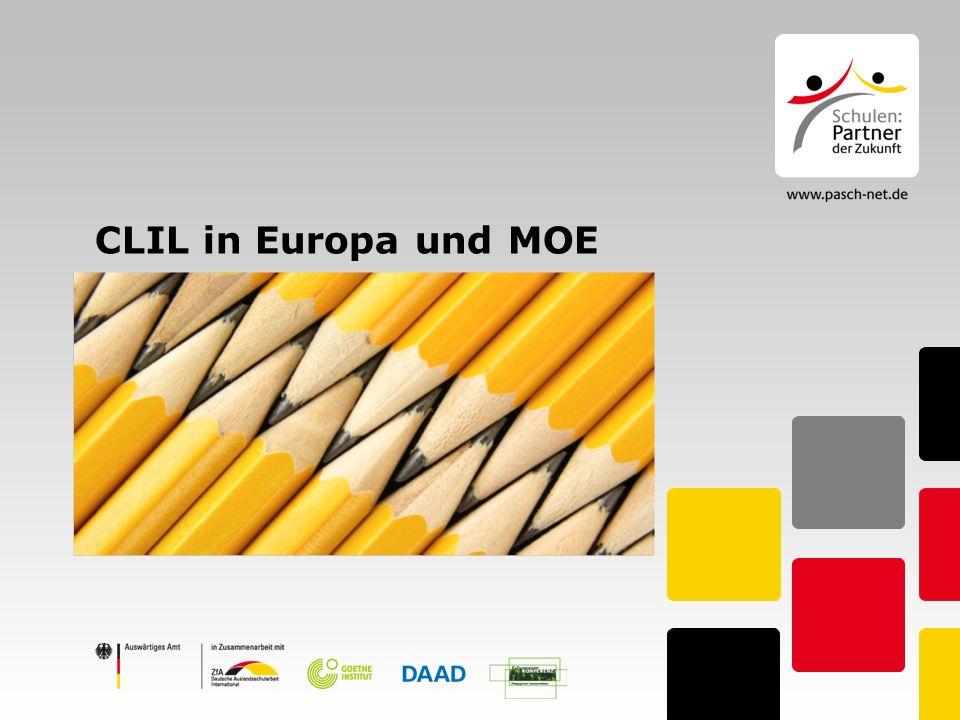 Agenda 1.Was ist CLIL. 2. Forschungsstand in Europa 3.
