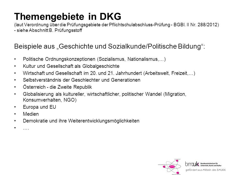 gefördert aus Mitteln des BMUKK Workshop Deutsch - Kommunikation und Gesellschaft (DKG) Mag.a Sonja Muckenhuber Volkshochschule Linz - Grundbildungszentrum Kärntnerstr.