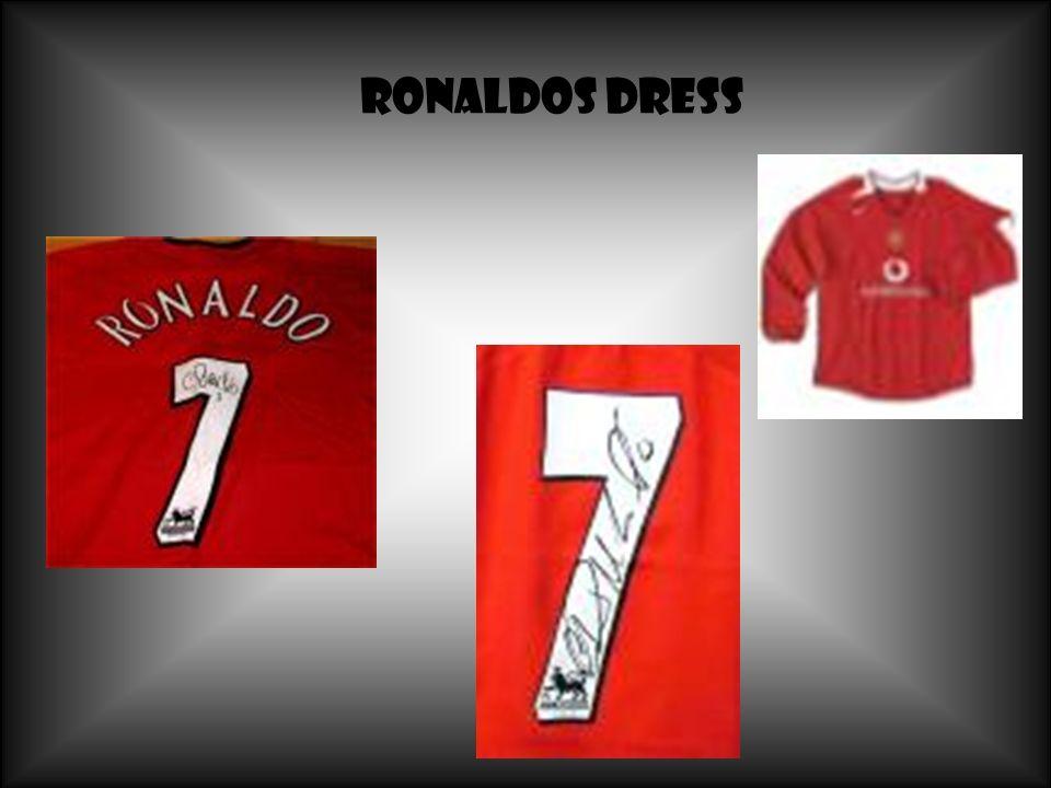Ronaldos Dress