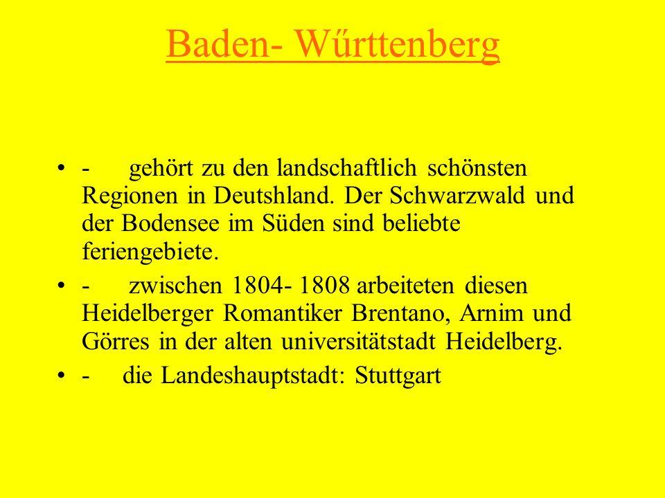 HH und HB - im Norden liegen auch die beiden Hausestädte Hamburg und Bremen, zugleich die Bundestadtstaaten sind.