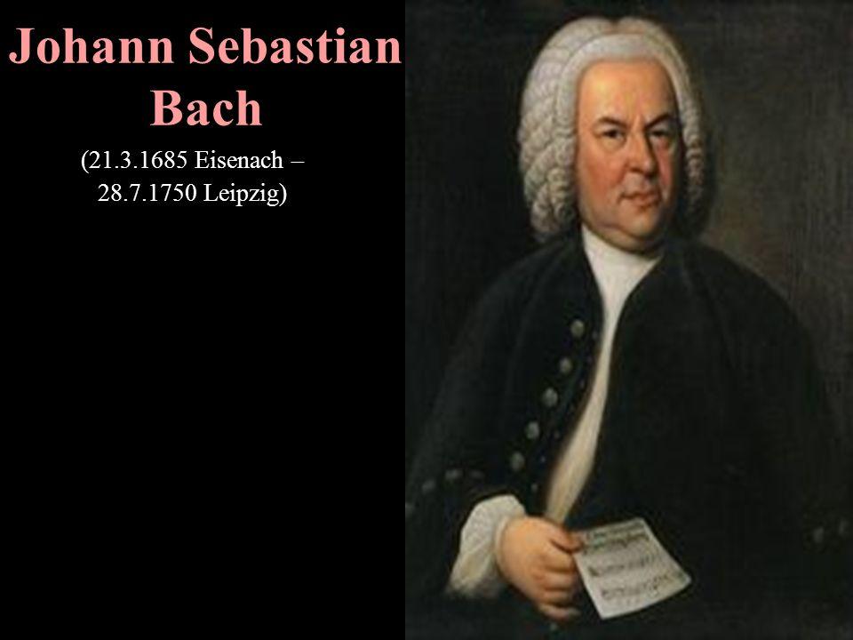 Georg Friedrich Händel (23.2.1685 Halle - 14.4.1759)
