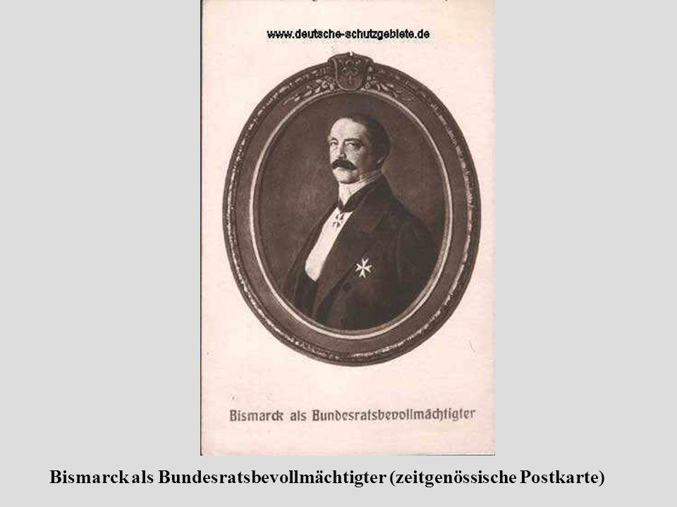 Nach Bismarcks Tod werden überall im Land Bismarck- Denkmäler errichtet