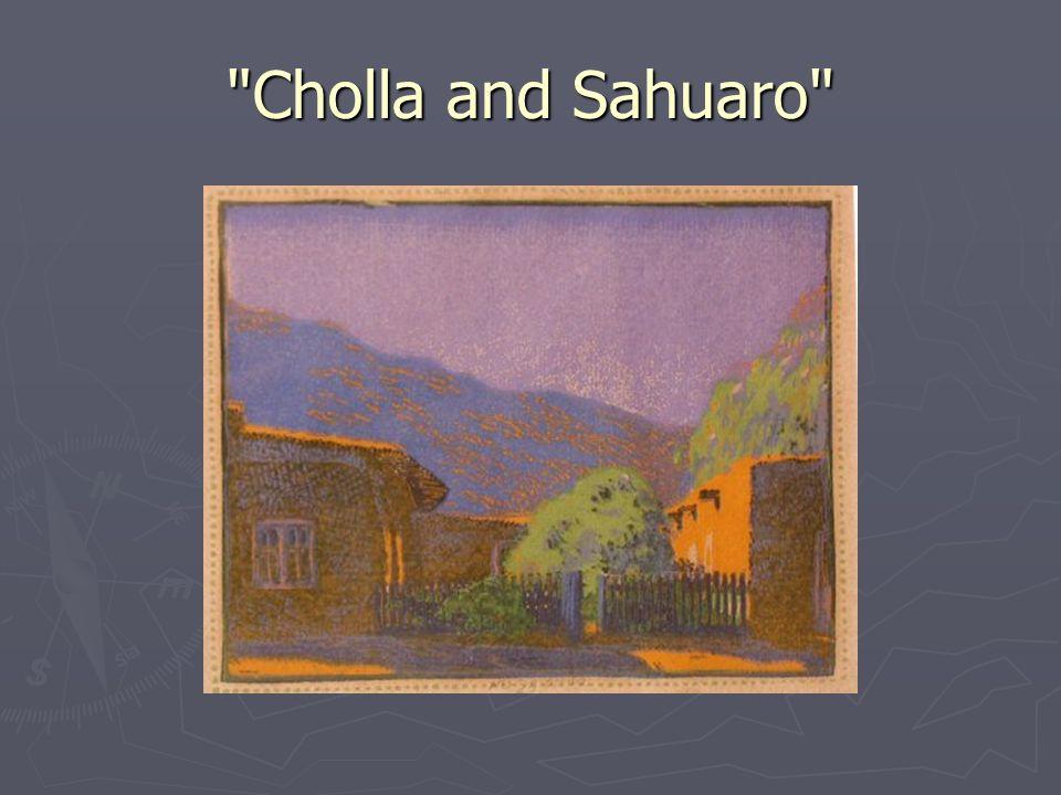 Cholla and Sahuaro