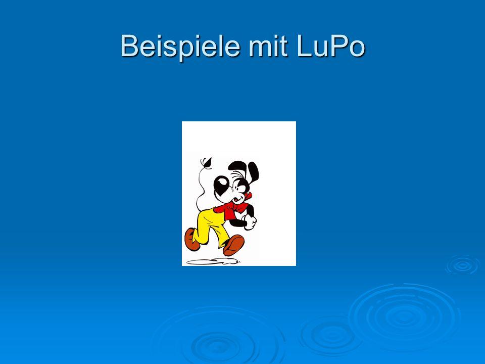 Beispiele mit LuPo