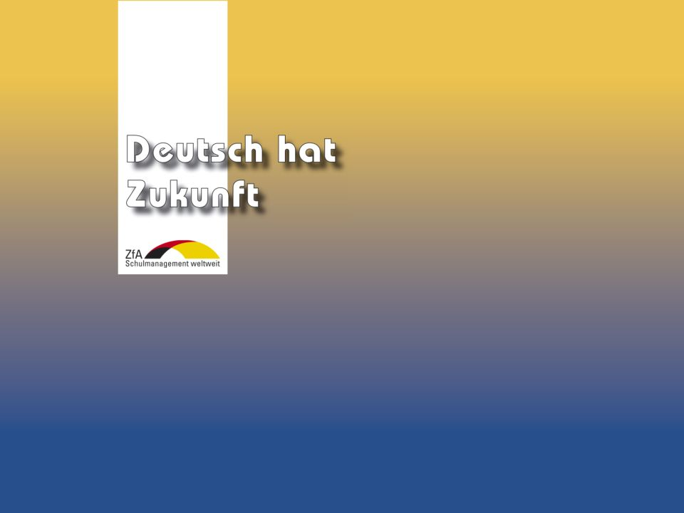 Wie lernt man Deutsch? Warum gerade Deutsch? Ausblick Grundlagen Abschluss- bereich Fachunterricht