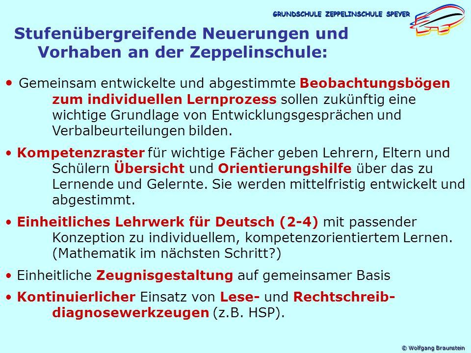 © Wolfgang Braunstein GRUNDSCHULE ZEPPELINSCHULE SPEYER 1.