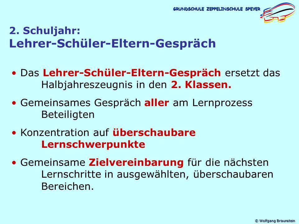 © Wolfgang Braunstein GRUNDSCHULE ZEPPELINSCHULE SPEYER 2.