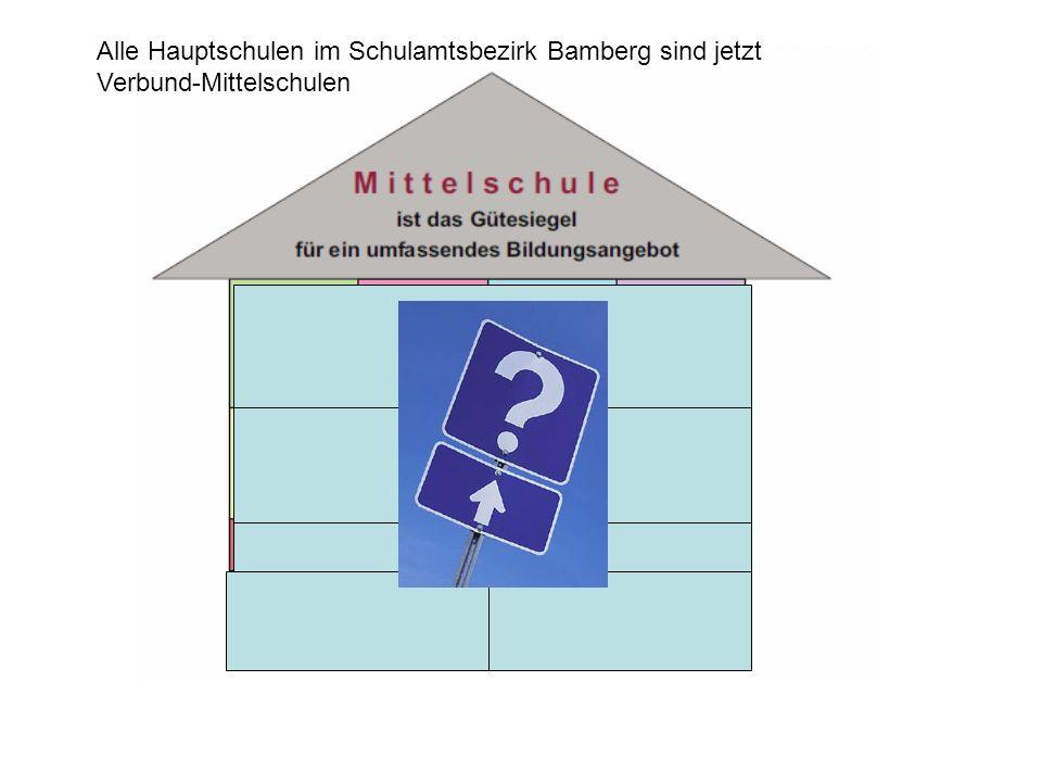 Alle Hauptschulen im Schulamtsbezirk Bamberg sind jetzt Verbund-Mittelschulen