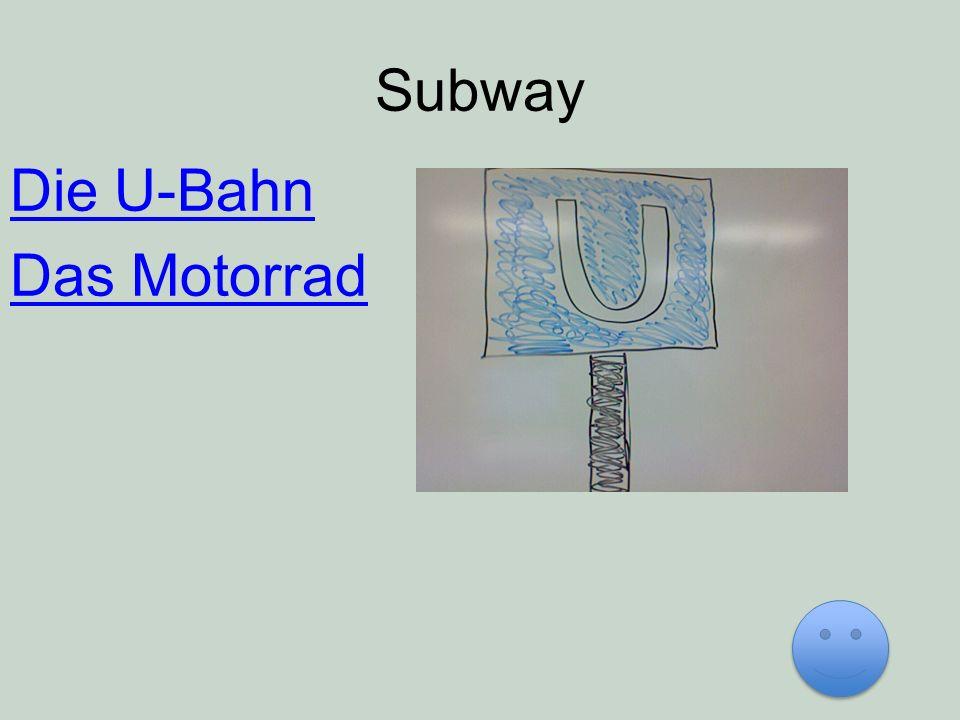 Subway Die U-Bahn Das Motorrad