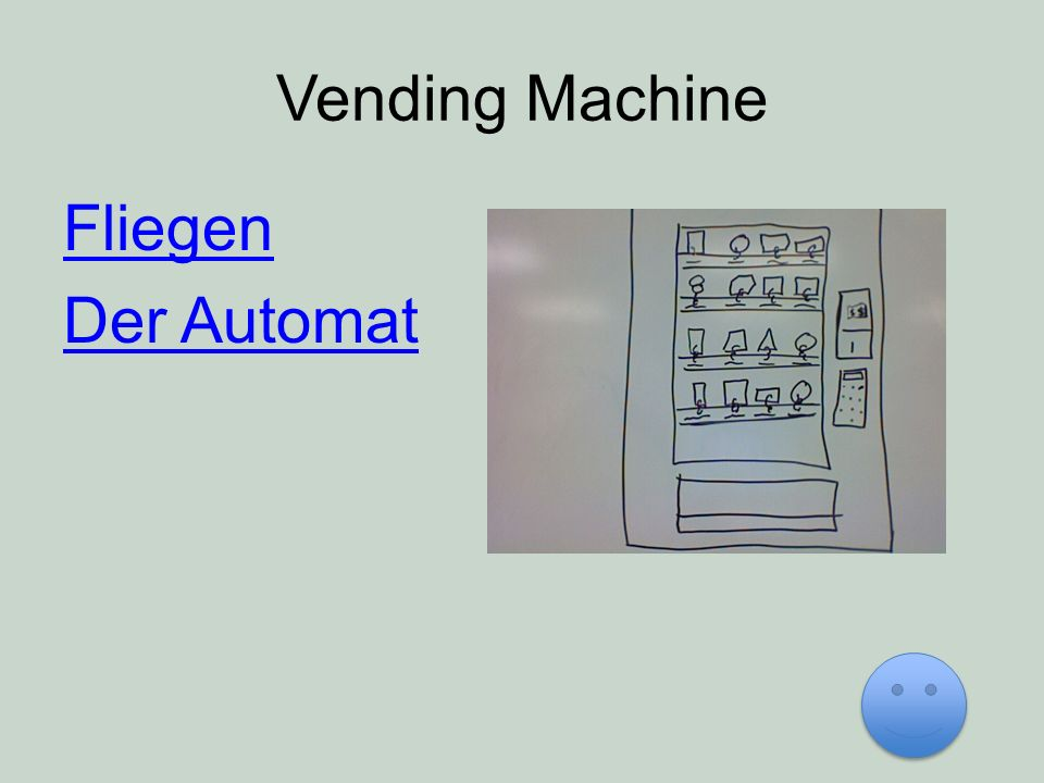Vending Machine Fliegen Der Automat