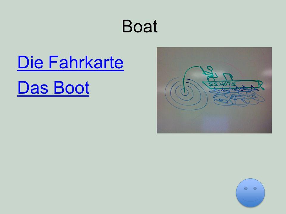 Boat Die Fahrkarte Das Boot