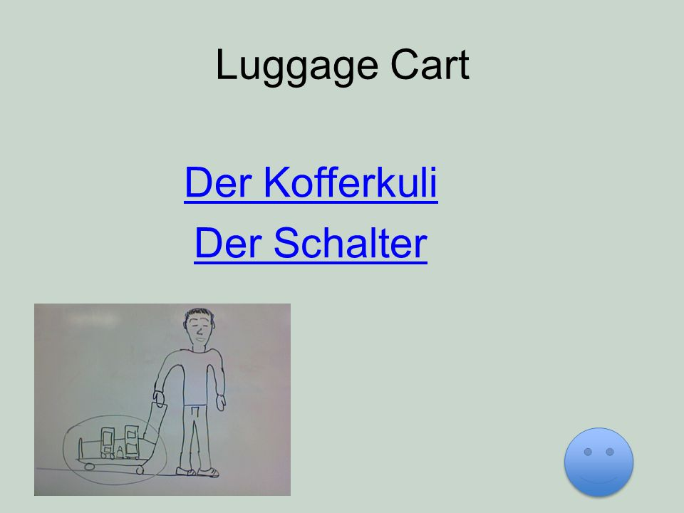 Luggage Cart Der Kofferkuli Der Schalter