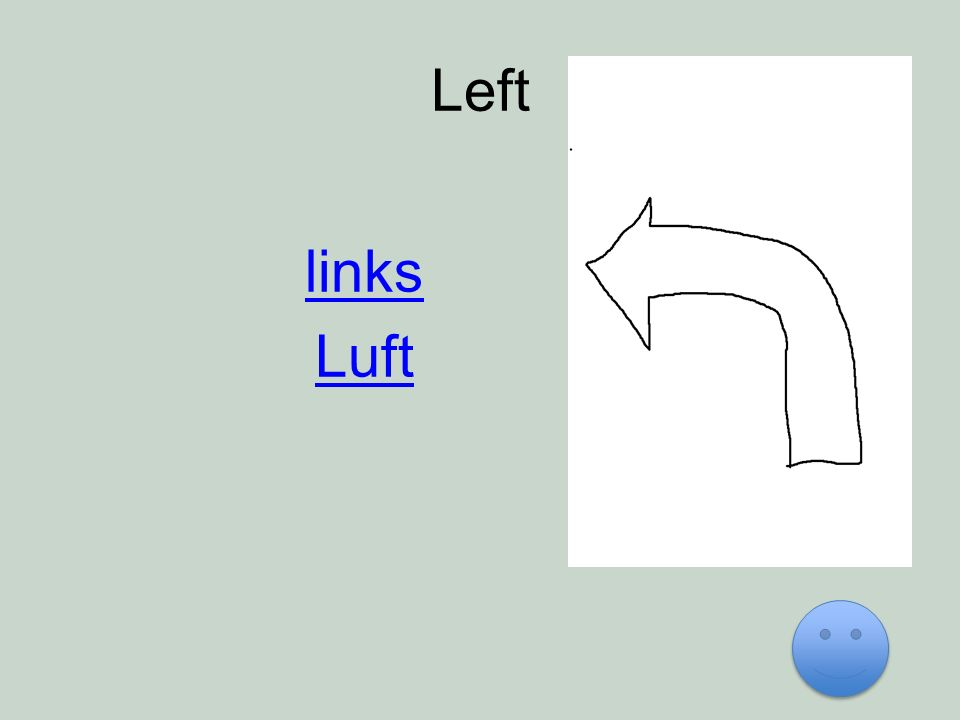 Left links Luft