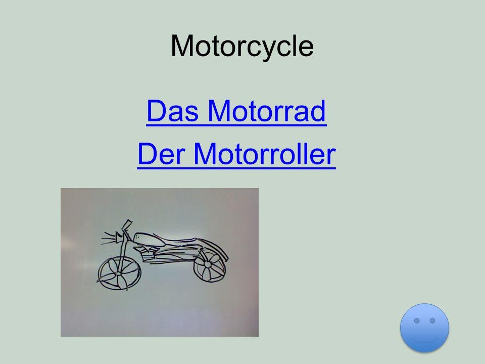 Motorcycle Das Motorrad Der Motorroller