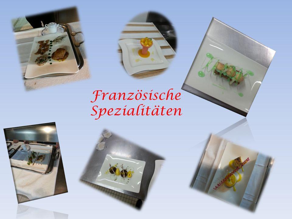 Französische Spezialitäten
