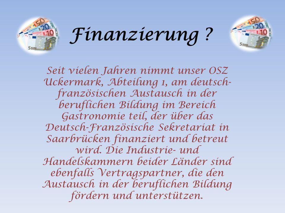 Finanzierung .