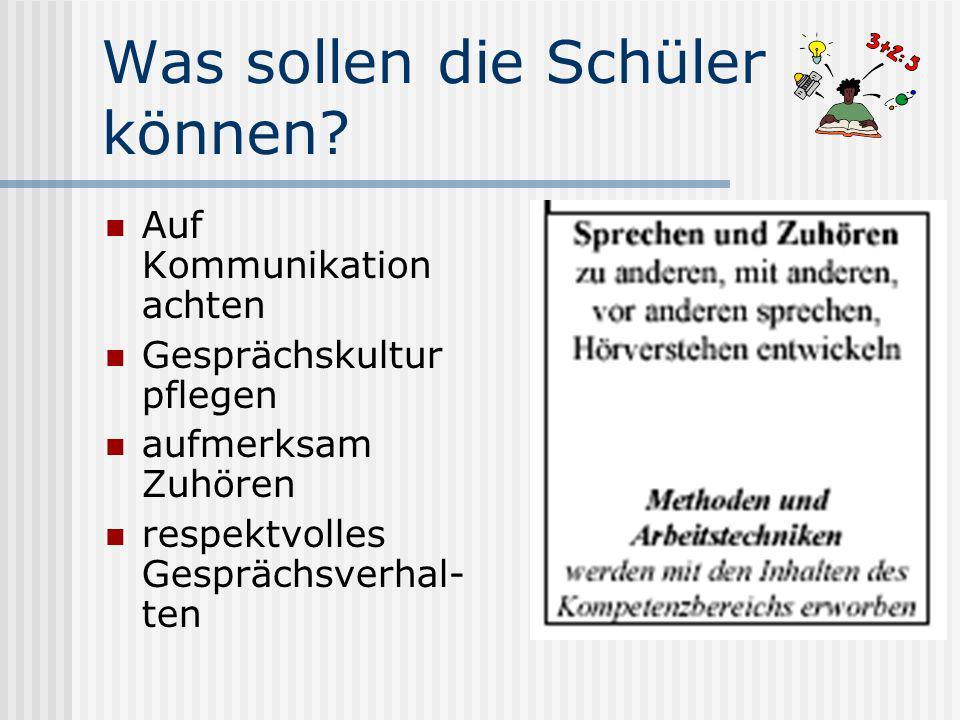 Frage: Wie wollen wir als Deutsch-Lehrer des BKT Lüdenscheid mit diesen Bildungsstandards umgehen?