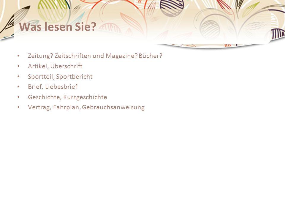 Lesetyp – Ein kleiner Test http://www.testedich.de/quiz26/quiz/1224600232/Welcher-Lesetyp-bist-du