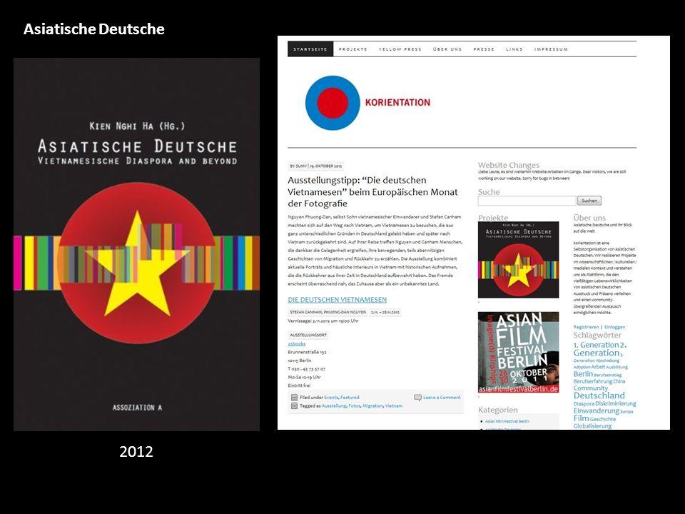 Asiatische Deutsche 2012