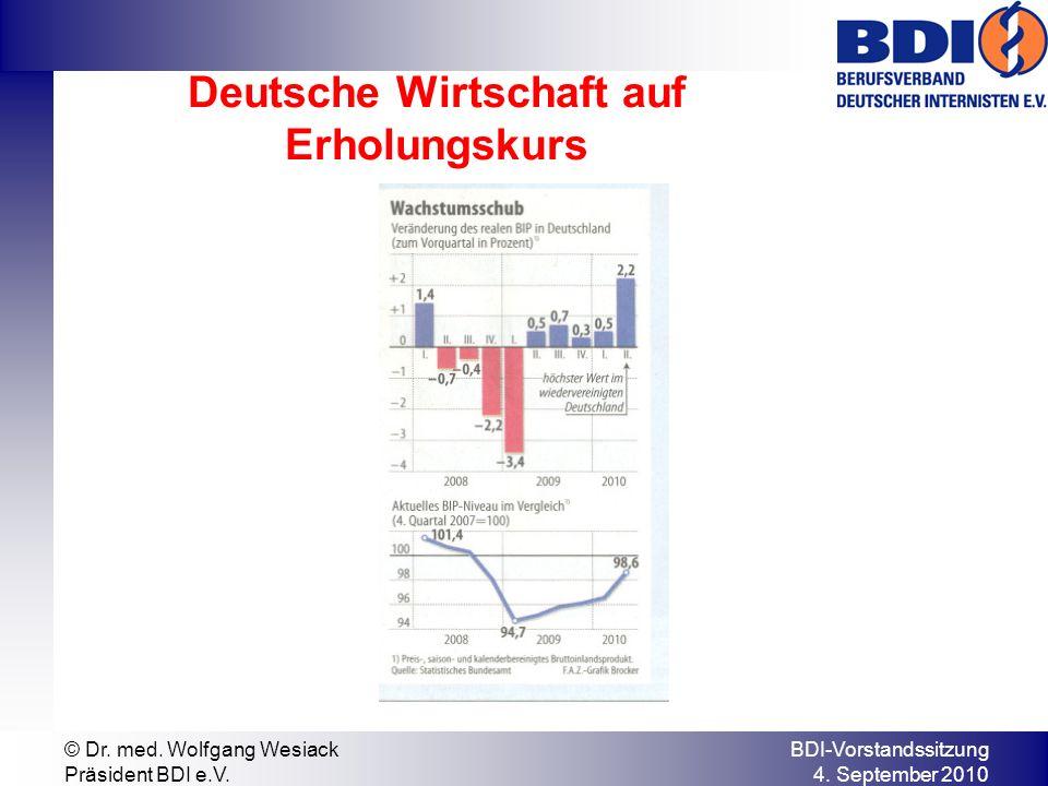 BDI-Vorstandssitzung 4. September 2010 © Dr. med.