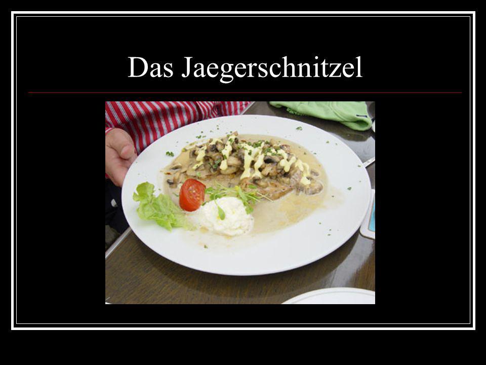 Das Jaegerschnitzel