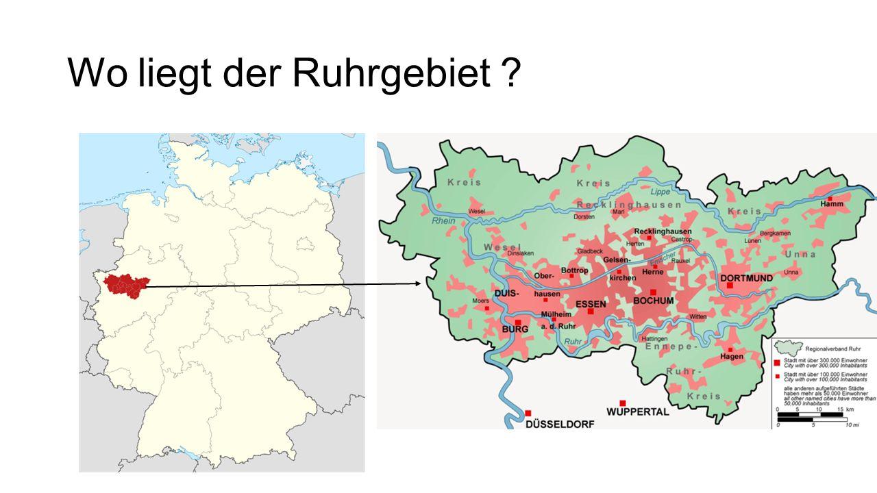 Wo liegt der Ruhrgebiet ?