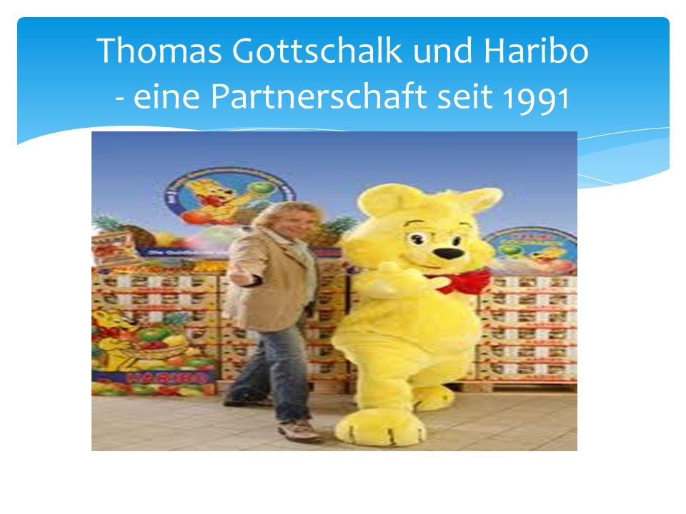 Thomas Gottschalk und Haribo - eine Partnerschaft seit 1991