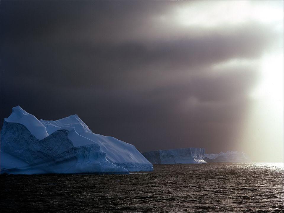 In derAntarktis herrschen die kältesten Temperaturen auf unserem Planeten, sie sinken bis zu 70 ° Centigrad unter 0, und der Wind erreicht bis zu 300h